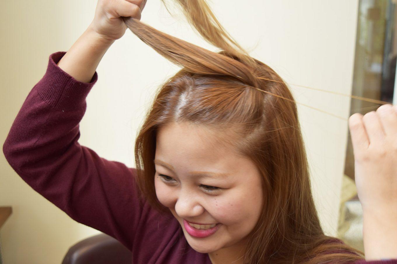 簡単つのヘアー-やり方02
