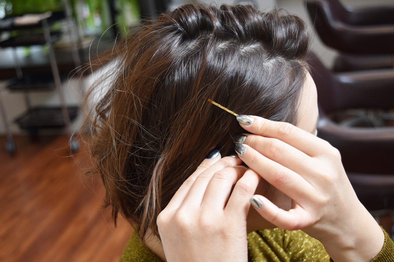 短くてもできる!かきあげ前髪-やり方16